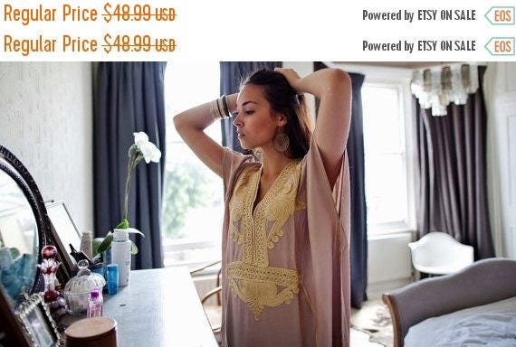 SUMMER 10% OFF // Summer Trendy Clothing,Beige Marrakech Resort Caftan Kaftan -beach cover ups, resortwear,maxi dresses, birthdays, h