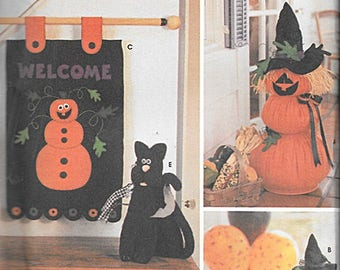 Felt Halloween Decorations Pattern S5892