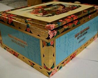 Empty Cigar Box for Crafting - San Cristobal Revelation - Oddyssey