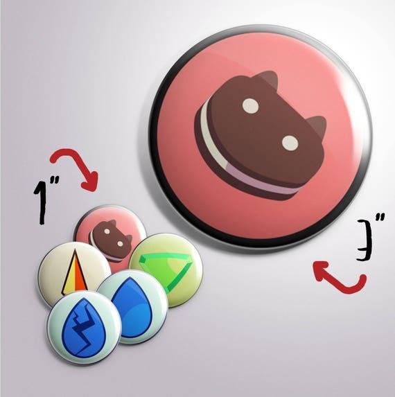 """1"""" Steven Universe Homeworld Gems Buttons"""