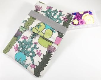 Tampon Case, Tampon Holder, Tampon Wallet - Cactus