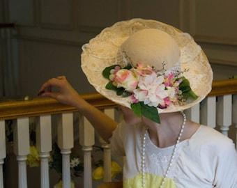 Victorian Tea Party Hat