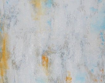 STARVING ARTIST Sale SALE Abstract Painting - Textured Acrylic- Unique Original Modern Contemporary Art