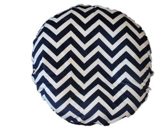 Boppy Lounger cover,Ships Today- slipcover for boppy lounger, navy chevron minky with navy back
