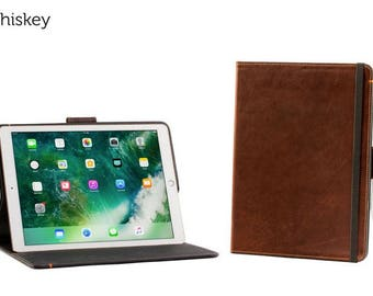 The Oxford Leather iPad Pro 12.9 Case with Pencil Holder - Whiskey | Leather iPad Pro Case, Leather iPad Case, Leather iPad Cover