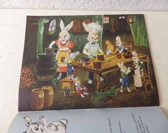 Children's Book, BUNNY TALES. Softcover, 1989. Delightful Easter Bunny Poems, Stories and Illustrations.