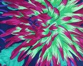 Kaffe Fassett Cactus Dahlias Fabric, PWPJ 054, OOP, Last Remnant
