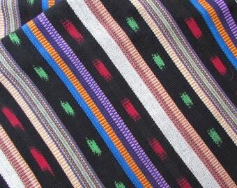 Guatemalan Ikat Fabric in City Lights