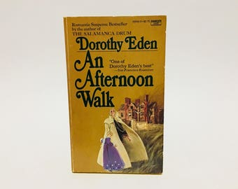 Vintage Gothic Romance Book An Afternoon Walk by Dorothy Eden 1972 Paperback