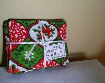 Poinsettia Christmas Coaster