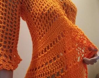 Crochet Shrug.