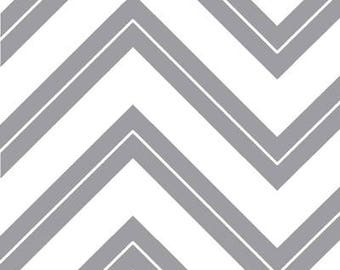 Cruzin' Gray Zig-Zag by Barbara Jones of Quiltshop for Henry Glass & Co. - 3-1/2 yard cut