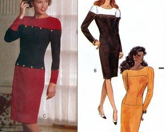 Butterick 5138 Sewing Pattern by David Warren for Misses' Dress - Uncut - Size 12, 14, 16