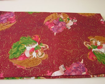 Christmas Cloth Napkins - Sets of 4 Or More - Many Patterns to Choose From