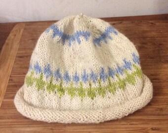 Originally design knit with farm raised alpaca fiber