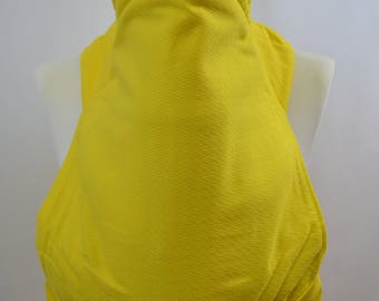 MEI TAI Baby Carrier / Sling / Reversible / All in Yellow / Cotton / Handmade / Made in UK