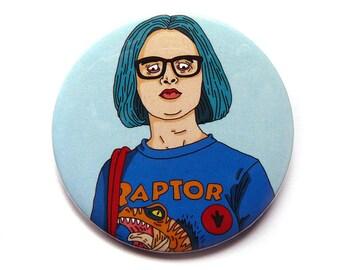 ghost world button pins illustration