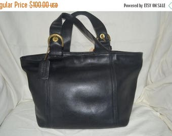On Sale Coach~Coach Tote~Black Coach Bag ~Fits Ipad Perfectly