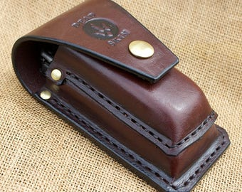 Leatherman Surge bit kit and extender leather sheath