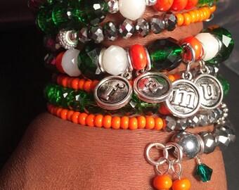 FAMU Snake Bracelet