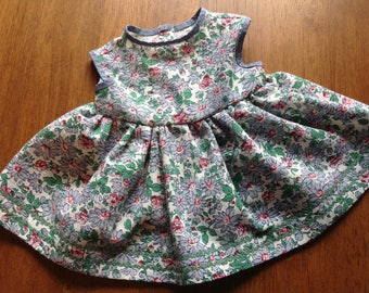 """18""""  Doll Clothes, Handmade 18"""" Doll Clothes, 18"""" Doll Dress, 18 Inch Doll Clothes"""