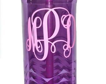Monogrammed Contigo Water Bottle