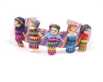 Guatemalan Worry People Headband
