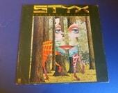 STYX The Grand Illusion Vinyl Record LP SP-4637 A&M Records 1977