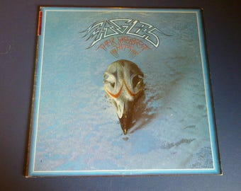 Eagles Their Greatest Hits Vinyl Record LP 7E-1052 Asylum Records 1976