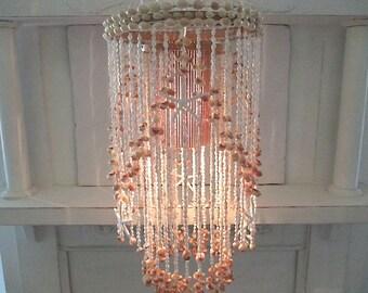 Hanging shell lamp | Etsy