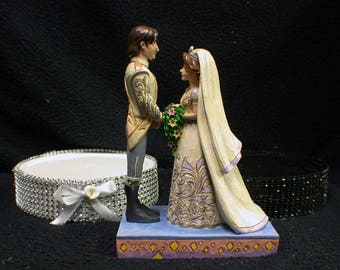 tangled wedding cake topper rapunzel centerpiece etsy 20753