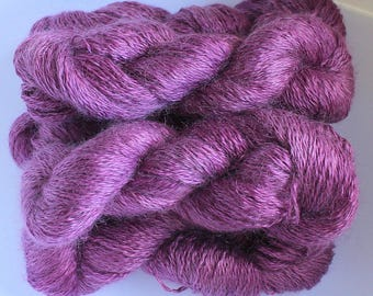 Lustre Lace smooth kid mohair yarn