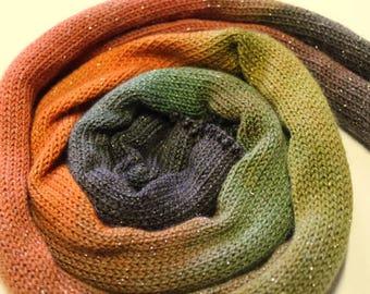 Sparkle Sock Yarn  blank gradient