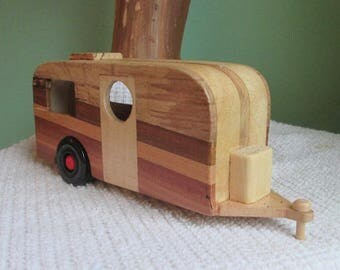 Wooden Toy Camper