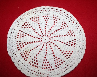 Vintage Hand Crocheted Hot Pad