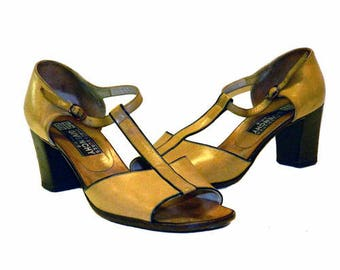 Vintage 1970's Givenchy Leather Shoes Size 8N