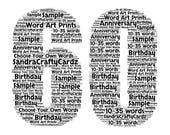 60, 60th Birthday, Anniversary, A5 Greeting Card Mum, Dad, Best Friend, Wedding Anniversary