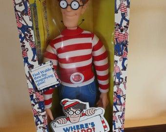 Vintage Mattel Where's Waldo? Waldo Doll 1991