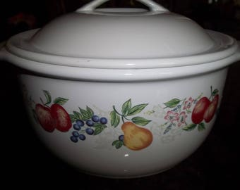 Corelle Chutney, 1 1/2 Quart  Covered Casserole Dish, Stoneware