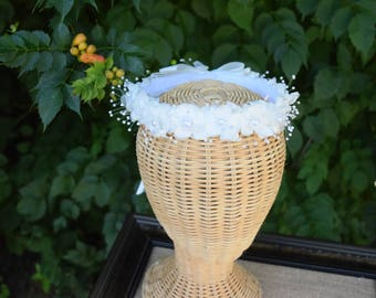 Ivory Flower Girl Wreath
