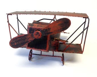 Musical Plane George Imports Biplane Fly Me To The Moon Airplane