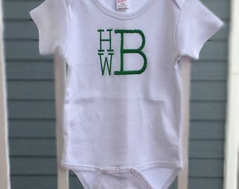 Embroidered Baby Bodysuit