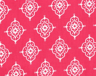 11457-14 Persian Rose, Trade Winds by Lily Ashbury for Moda