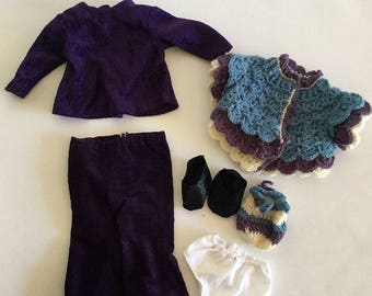 """18"""" Doll Outfit Walk in the Park"""