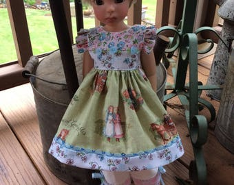 """Anne of Green Gables, 18"""" doll clothes, MSD"""