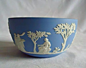 Wedgewood Blue Bowl Jasperware