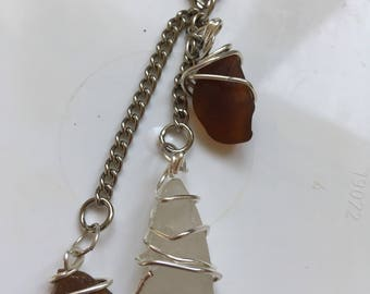 Sea Glass Handbag charm