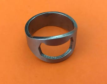 Bottle Opener Ring or Bartenders Ring