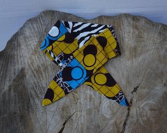 Tribal print headband, African Print headband, Hairband, Hair accessory, Animal Print and Wax Print Headband