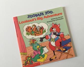 1988 Zoobilee Zoo Book